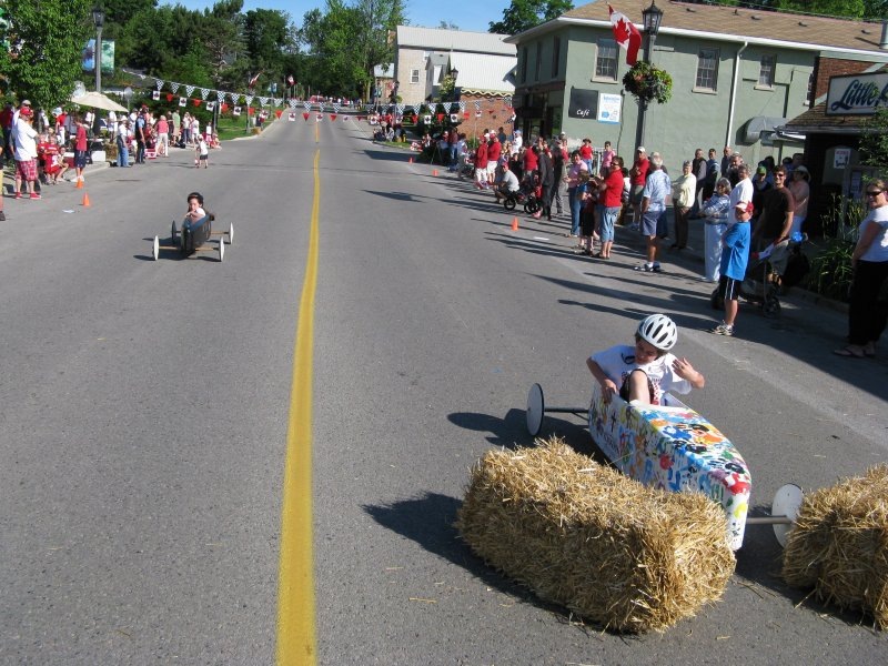 Canada Day in Elora, Ontario