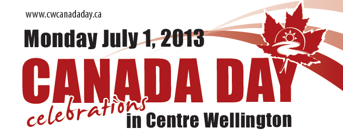 2013 Canada Day Activities in Elora and Fergus