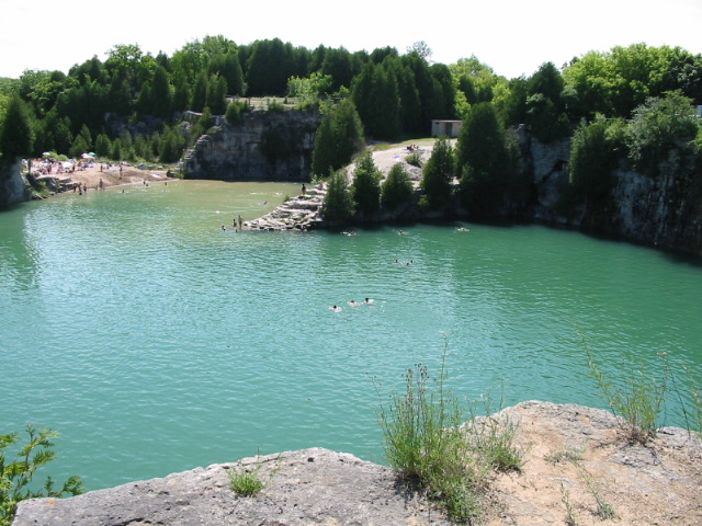 Hard cap of 1,300 people a day for Elora Quarry
