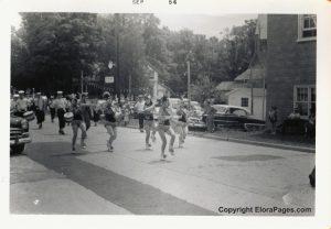 Elora parade 1956