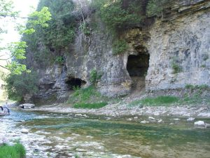 Exploring the caves in the Elora Gorge can be a lot of fun.