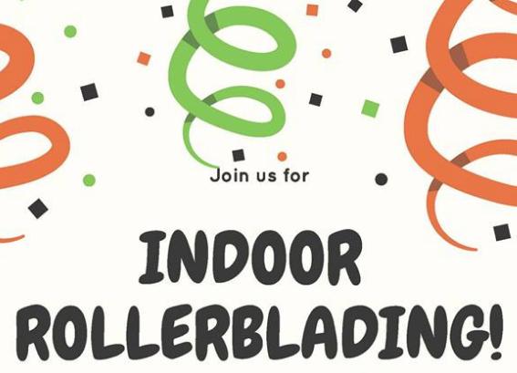 Drop-in Indoor Rollerblading in Elora Arena